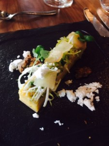 Pear and Cambozolla Tart