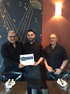 Al Canale @MariosMeatballs and Chef Zack Steele and Owner Carl Kumpera of Baccano