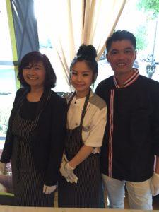 The Chefs team from Sawasdee Thai Restaurant