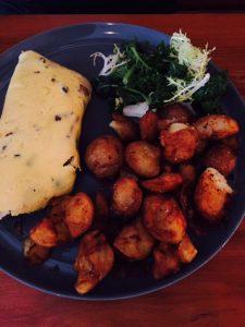 Truffle-scented Mushroom Omelette
