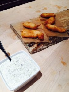 Haida Gwaii Beer Battered Halibut,