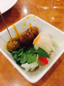 Northern Thai style sausages