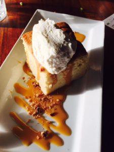 Pastel de Tres Leches sponge cake