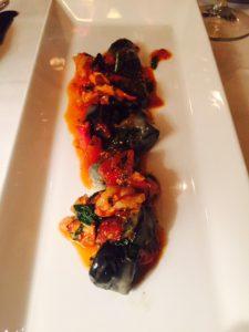 Black Burrata Gnocchi