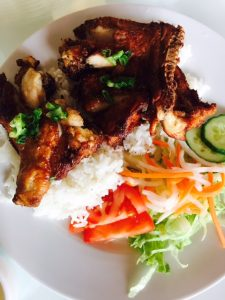 Lemongrass Chicken on Rice