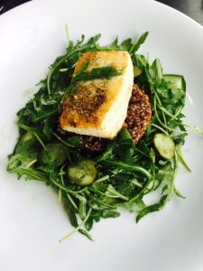 Pan Roasted Haida Gwaii Halibut
