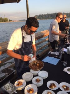 Chef Faizal Kassam of Terroir Kitchen