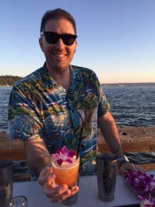Shea Hogan of the Shameful Tiki Room