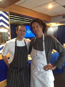 Chef Stewart Boyles (l) and Chef Jamie Kennedy (r)