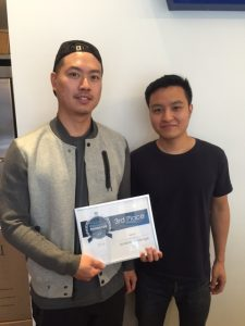Michael Lai and Tommy Choi