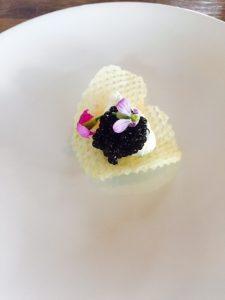 Pomme Gaufrette and Gensac Caviar