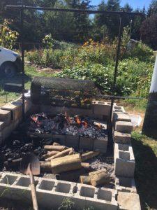 Forage Restaurant served up roasted vegetables from Fraser Common Farm
