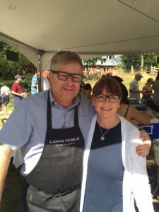 Charles and Rita of Long Table Distillery