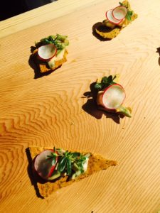 West Restaurant served a Glen Valley Artichoke Remoulade