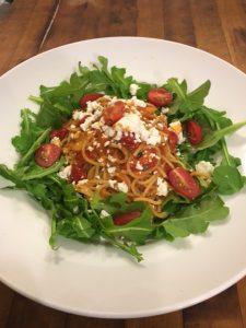 Spaghetti Rucola