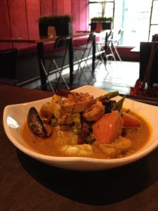 Seafood Bouillabaisse in Assam Curry