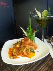 Spaghetti Tum Yum Seafood