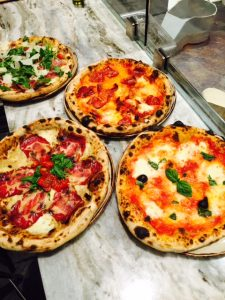 Selection of Pizzas