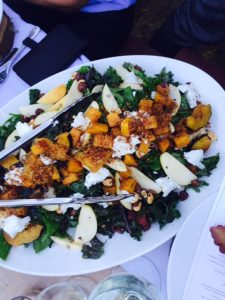 Spiced Roasted Squash & Apple Salad