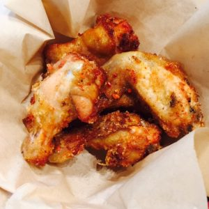 5 spice fried Chicken Wings