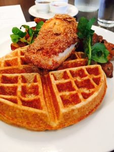Chicken and Waffles,