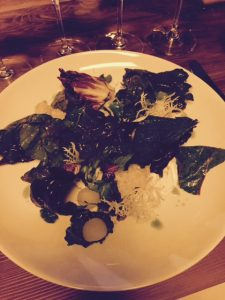 CSW Reisling Salad of Fall Greens