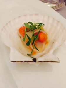 Raw Pacific Scallop