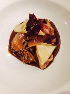 Tuna/Mushroom/Celeriac
