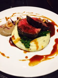 Seared Gras Fed Beef Tenderloin