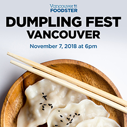 Dumpling Fest Vancouver on November 7