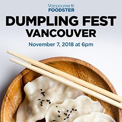 Dumpling Fest Vancouver on November 7